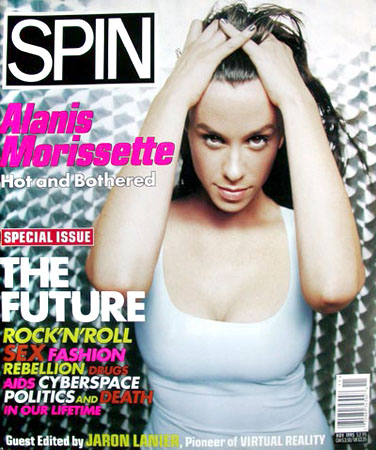 Alanis Morissette by Stephane Sednaoui. Makeup & Hair Julie Bégin.