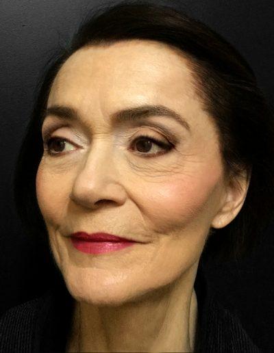 Christiane Pasquier. Maquillage et Coiffure Julie Bégin.